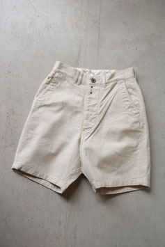 ANACHRONORM/アナクロノーム COTTON HERRINGBONE WIDE TROUSER SHORTS ANA263