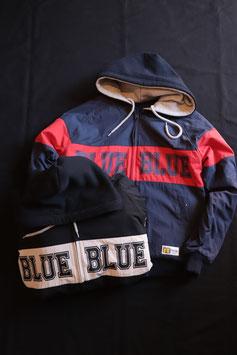 BLUE BLUE×RUSSELL REVERSIBLE HOOD JACKET 700077776
