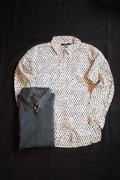 Johnbull/ジョンブル ジップシャツ 13606