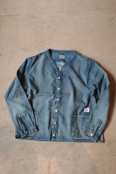 ANACHRONORM/アナクロノーム DENIM SHIRTS CARDIGAN AGING WASH NM-SH05W1