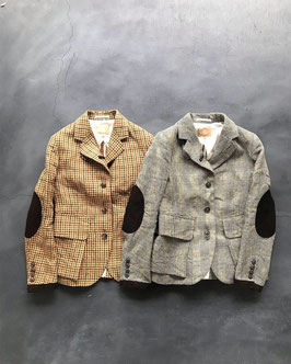 Nigel cabourn woman / Riding jacket  linen old check