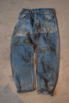 ANACHRONORM/アナクロノーム TYPE α BASIC TAPERED JEANS NM-5P01-PRW18