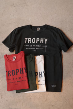 TROPHY CLOTHING/トロフィークロージング Weight Crew Tee TR18SP-202