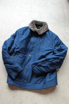 BLUE BLUE/ブルーブルー インディゴジャーマンクロスデッキジャケット 700050341