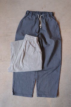 H.UNIT/エイチユニット Coad stripe easy cook pants H-PT005