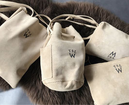 THE SUPERIOR LABOR FOR WOMAN / シュペリオールレイバー suede hand bag SLW012   reversible leather bag SLW010