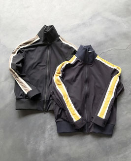 Robes&confections/Microfiber jersey track jacket