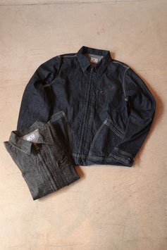 FULLCOUNT/フルカウント DENIM ZIP JACKET (91B) ONE WASH 2943OW