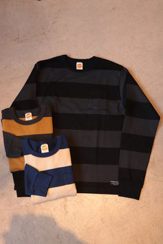 TROPHY CLOTHING/トロフィークロージング Wide Border L/S Tee TR18AW-202