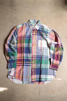 HOLLYWOOD RANCH MARKET/ハリウッドランチマーケット ビッグプラッド ロングスリーブシャツ700080934