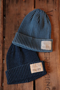 FULL COUNT/フルカウント INDIGO RIB WATCH CAP 6817