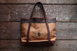 Varde77/バルデ VINTAGE CARPET TOTE BAG MO18AW-AM-BG01