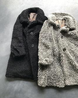Robes&confections / Sheep boa midi coat シープボアミディコート