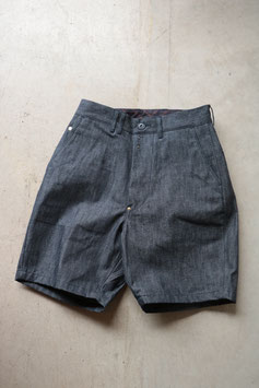 ANACHRONORM/アナクロノーム INDIGO CHINO WIDE TROUSER SHORTS ANA266