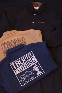 TROPHY CLOTHING/トロフィークロージング  BOX LOGO WARM UP JACKET  TR19SP-502