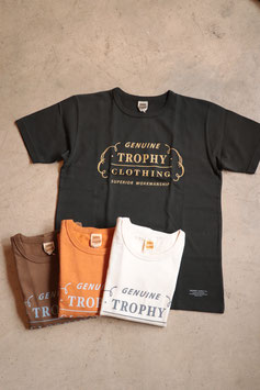 TROPHY CLOTHING / トロフィークロージング RANCH LOGO OD CREW TEE TR19SS-208