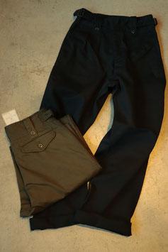 BLACK SIGN/ブラックサイン Cotton Twill Gurkha Pants  bsfp-18503B