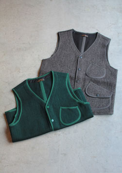 FULLCOUNT/フルカウント BROWN'S BEACH GREYLOCK VEST BBJ8_002