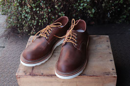 RED WING WORK OXFORD ROUND-TOE 8005