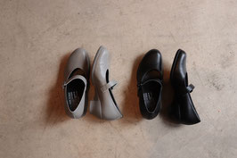 chausser ショセ travel shoes  TR-006 ワンストラップレザーシューズパンプス