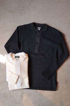BLACK SIGNブラックサイン Waffle Blister Amish Underwear bsfn-18303B