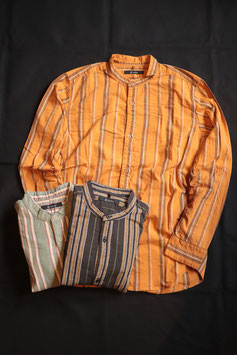 Johnbull/ジョンブル シャーリングバンドカラーシャツ 13603