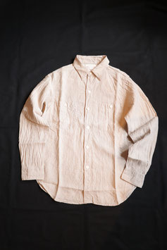 FULL COUNT/フルカウント LINEN CANVAS SHIRT 4810-20L