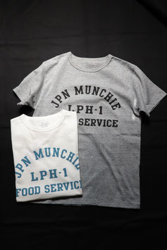 G&F Co. JPN MUNCHIE FOOD SERVICE TEE TEE-44-PA