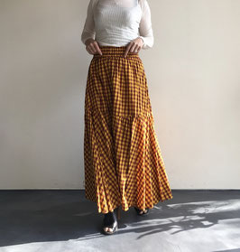 Sara mallika サラマリカ チェックスカート