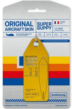 Aviation Tag Supperguppy gelb