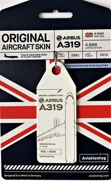 Aviation Tag British Airways 319-100  G-EUOH