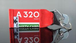Schlüsselanhänger A320 AIR Berlin by FlapsFive RED !!!