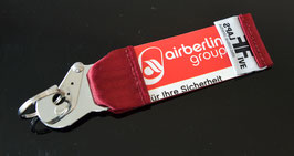 Schlüsselanhänger AIR Berlin by FlapsFive RETRO RED !!!