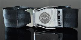 Am Safe Flugzeuggürtel gunmetall grey
