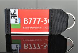 Schlüsselanhänger Emirates B777 by FlapsFive
