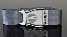 Original Am Safe Spantax Flugzeugschnalle | grey !