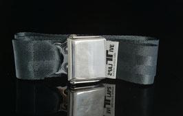 Davis Flugzeuggürtel Gunmetal Grey