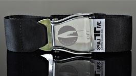 Original Am Safe Spantax Flugzeugschnalle | black !