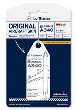 Aviation Tag LH A340 DAIHR