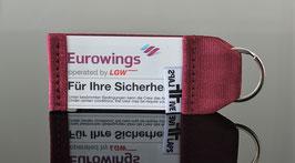 Schlüsselanhänger EUROWINGS  operated by LGW