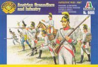 ITALERI 6005 Napoleonic Austrian Grenadiers and Infantry - Secondhand