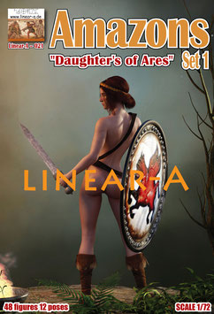 "LINEAR-A 021 Amazons ""Daughter's of Ares"""