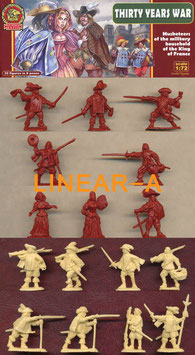 ULTIMA RATIO UR011 Musketeers of the Military Household of the King of France