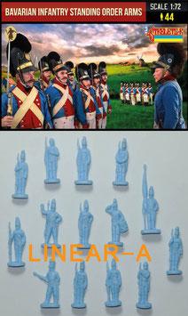 Strelets 271 Bavarian Infantry Standing Order Arms