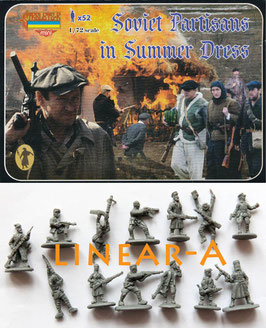 STRELETS M085 WWII SOVIET PARTISANS IN SUMMER DRESS