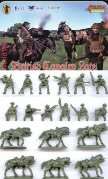 STRELETS 114 WWI BRITISH LATE CAVALRY