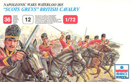 "ESCI #217 British Cavalry ""Scots Greys"" - Secondhand"