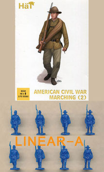 HÄT 8332 American Civil War Marching Set 2