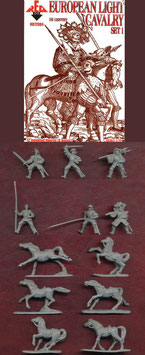 REDBOX 72084 EUROPEAN LIGHT CAVALRY 16th Century SET 1