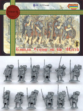 LINEAR-b  007 ROMAN LEGION ON THE MARCH